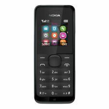 Nokia 105-BLACK 2G ORIGINAL UK  Unlocked Sim Free