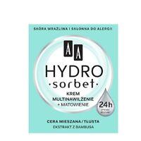 AA Hydro Sorbet Multi Moistrurizing and Matting Face Cream for Mixed Skin 50ml