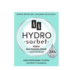 AA Hydro Sorbet Multi Moistrurizing and Matting Face Cream for Mixed Skin 50ml
