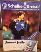 FC Schalke 04 Schalker Kreisel Magazin 28.10.1995 Bundesliga Derby Dortmund /254