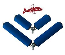Dinsmores Pole Fishing Rollers 6in & 3in Duplon Set of 2 (28cm wide & 16cm wide)