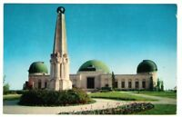 Undated Unused Postcard Planetarium Hollywood California CA