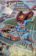 Superman Meets the Motorsports Champions DC Racing Greats Comic 1999 John Force
