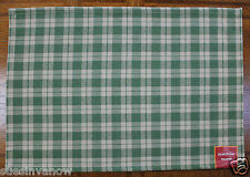Kitchen Dining Placemats Single Hearth & Home Collection Farmhouse Plaid Green