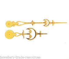 Orologio in ottone MANI riproduzione 18th secolo lungo caso RICAMBI Nonno