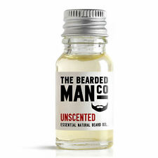 Unscented Beard Oil Conditioner Male Grooming Father's Day Gift 10ml