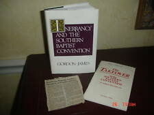 1st ed Sign INERRANCY SOUTHERN BAPTIST CONVENTION JAMES