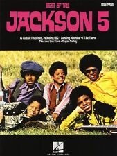 The Jackson 5 Best Of Learn to Play ABC Beginner EASY Piano Music Book