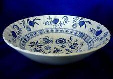 J.&G.MEAKIN Blue Nordic Round Vegetable Bowl - England