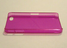 Pink Ultra Thin 0.5mm Plastic Case for Apple iPhone 4 4S