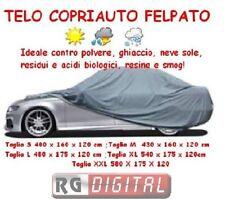 TELO COPRIAUTO COPRI AUTO IN PVC FELPATO ANTIGRAFFIO IMPERMEABILE ANTGHIACCIO RG