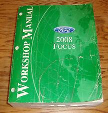 Original 2008 Ford Focus Shop Service Manual 08