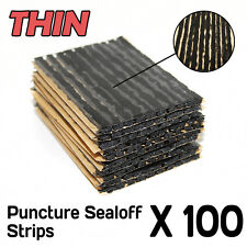 "100pcs Tyre Puncture Repair Strings Strips Needs No Glue 4"" Long"