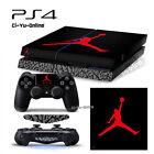 [PS4] Air Jordan 3 Retro Shoe Box Black VINYL SKIN STICKER DECAL Sony Console