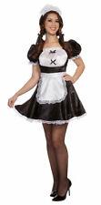 Dienstmädchen Kostüm sexy Zimmermädchen Uniform Damen Fasching Karneval KK