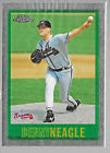BASEBALL CARD ROOKIE SET BREAK MT NM DENNY NEAGLE 1997 TOPPS 157 CHROME REFLECT. rookie card picture