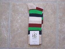 Happy Socks Men's Combed Cotton Socks - Multi-Color Pattern  RB