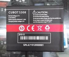 Cubot S308 Battery 2000mAh * shipping from Europe