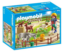 NEW PLAYMOBIL FARM ANIMAL PEN 6133 CHILDREN BUILDING CONSTRUCTION PLAY FUN TOY