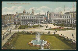Mayfairstamps Uruguay Montevideo Plaza Independencia Postcard wwp73081
