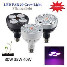 40W LED Grow Pflanzen Leuchte Lampe Licht Blüte 3200K E27 Full Spectrum Light