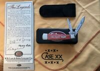 2004 Case XX The Legends Tour Gunstock Old Red 62130 SS Signed 1 Of 300 Rare FS
