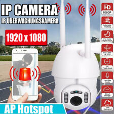 1080P HD WIFI IP Kamera Überwachungskamera Webcam Wlan Innen Außen IR Nachtsicht