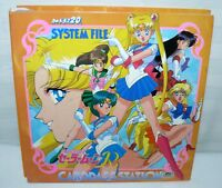Sailor Moon Carddass-station System File Japanese With R Series Cards And Bonus