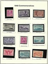 1948 UNITED STATES *COMMEMORATIVE* STAMPS (MNH)
