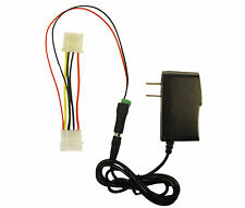 AC Power Adapter 110 115 120V AC to 12V 2 Amp 4 Pin Molex Power Adaptor 1004*