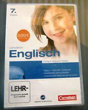 CD Rom Lernvitamin Englisch 7. Klasse Cornelsen neuwertig