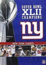 NFL Super Bowl 42 (XLII) - New York Giants Champions [DVD] NEU Manning