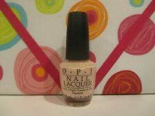O.P.I. ~ Nail Lacquer ~ Stop It I'M Blushing ! ~ 0.5 Oz Unboxed