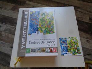Catalogue de timbres Yvert & Tellier tome 1 France 2015 avec vignette