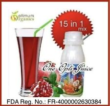 ONE OPTI JUICE  15in1 Mix Juice, w/ Stevia, Anti-Oxidants, Immune Booster, FDA