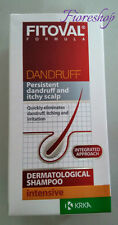 FITOVAL SHAMPOO 100ML ANTI-DANDRUFF ZINCO PIRITIONE riduce FUNGHI Sebo