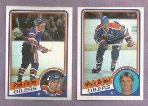 1984-85 OPC O-PEE-CHEE Edmonton Oilers Team Set