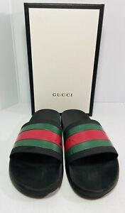 """Gucci Pursuit 72 """"Trek"""" Flip Flops Sandals Slip On Size 10"""
