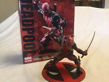 Deadpool Artfx+ Red Suit Marvel Now Kotobukiya, 1/10 Scale Statue