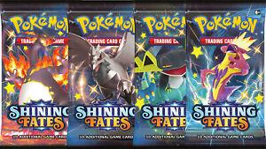Pokemon TCG Shining Fates Pick Your Own Single Cards - Common / Uncommon / Rare