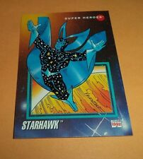 Starhawk # 69 1992 Marvel Universe Series 3 Base Impel Trading  Card
