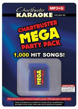 Chartbuster Karaoke Mega Party Pack - 1, 005 MP3G Songs on SD Card