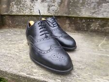 CHEANEY ( GIEVES & HAWKES ) VINTAGE BROGUES - BLACK - UK 12 – EXCELLENT COND