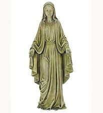 Blessed Virgin Mother Mary Garden Statue Decor Figure Christian Catholic 19.25""