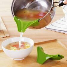 Anti-spill Drain Pans Round Rim Deflector Soup Diversion Mouth Cooking Tools