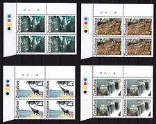 Zimbabwe 2005 Heritage / UNESCO Cylinder Blocs 1B, MNH (sheet corner)