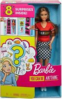 Barbie Doll with 2 Career Looks That Feature 8 Clothing and Accessory Surprises