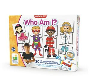 The Learning Journey Match It! Who Am I? Matching Puzzle Set  Kids Puzzle New