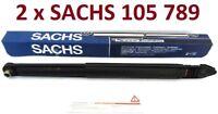 2 x SACHS 105 789 Gasdruck Stoßdämpfer für OPEL VECTRA A CC HA NEU