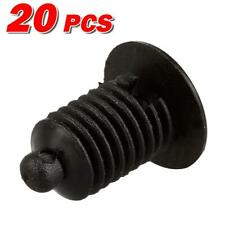 20x Nylon Front Bumper Door Trim Panel Grille Clip Rivet Retainer for Silverado